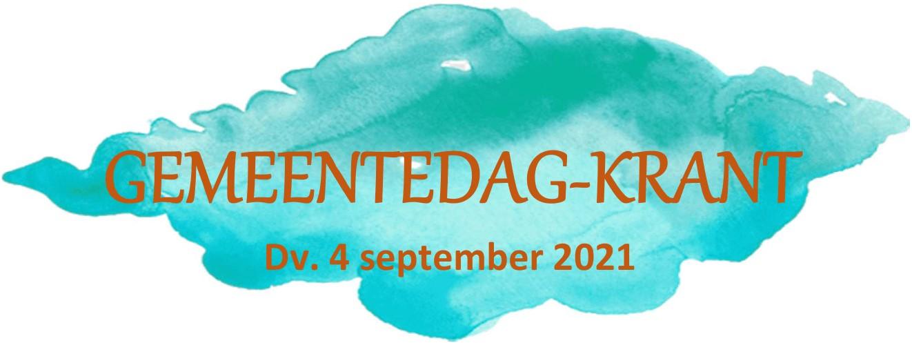Gemeentedagkrant2021 logo